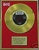"ROY ORBISON - 7""-  24 Carat Gold Disc - PRETTY PAPER"
